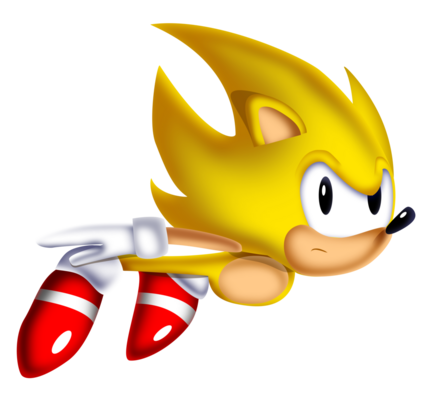 The Real Classic Super Sonic by NuryRush