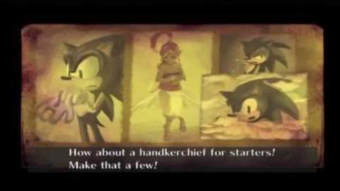 Sonic and the Secret Rings Cutscene 1 - The World of the Book