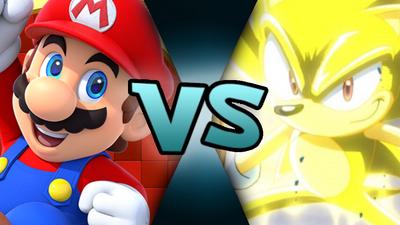 MP Mario VS SX Super Sonic (MM875)