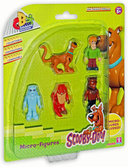 Scooby Doo Character Building 5 Figure Pack - Set A
