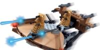 Dalek Skimmer Mini Vehicle Set