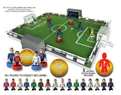 Sports Stars Dug-Out Playset with 3 figures