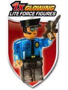 LB glow policeman