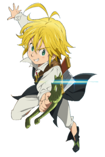 Meliodas, the Dragon's Sin of Wrath