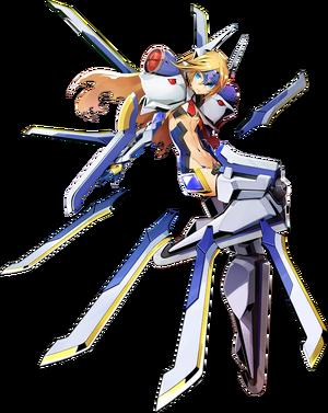 Mu-12 (Centralfiction, Character Select Artwork)