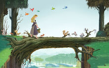 Disney Princess Aurora's Story Illustraition 5