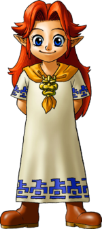 Malon Artwork (Ocarina of Time)