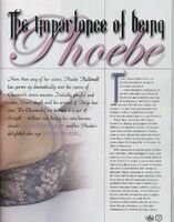 Importance Phoebe2