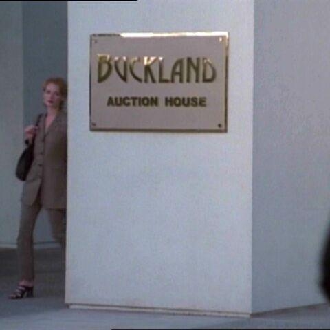 Wejście do Buckland.