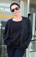Shannen Doherty in Prague (27. 9. 2011)