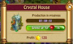 Crystal houseP