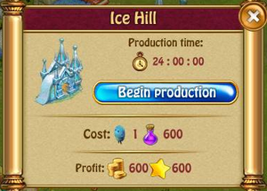 Ice hill P
