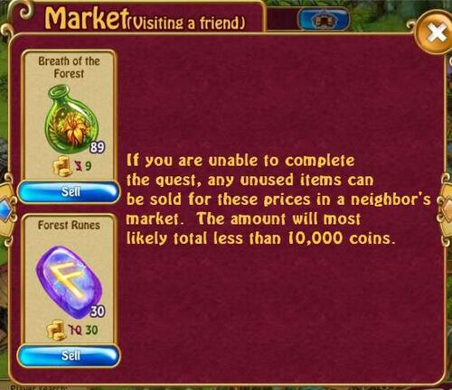 Forest rune prices