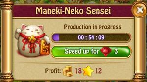 Maneki neko sensei P