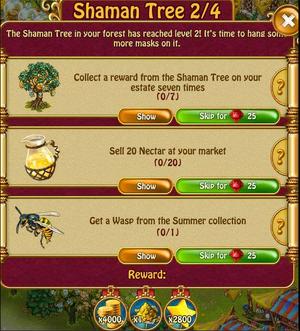 Shaman tree 2 of 4