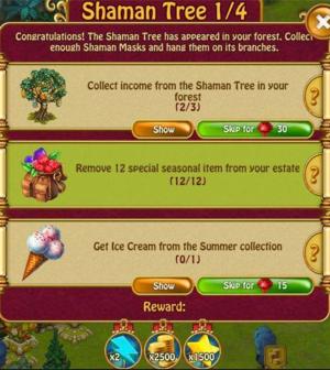 Shaman tree 1 of 4