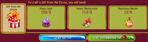 Gifts from the circus