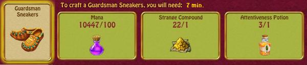 GM sneakers