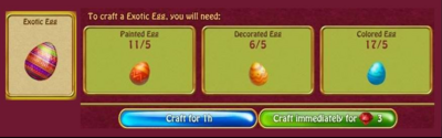 Exotic eggs