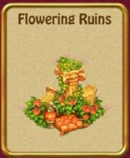 Flowering ruins