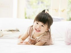 Cute Asian Children photos HU174 350A