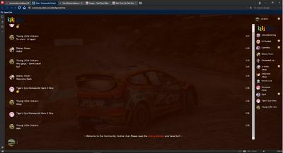 PrntScr WRC Chat Skin 2 Full Screen