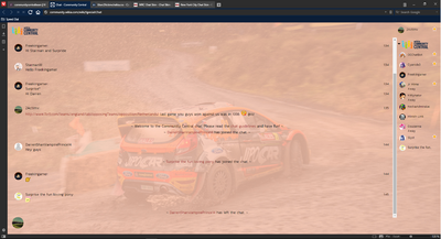 PrntScr WRC Chat Skin Full Screen