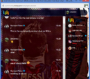 Lionel Messi Chat Skin