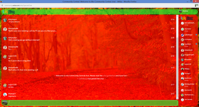 PrntScr Forest Chat Skin 001 Full Screen