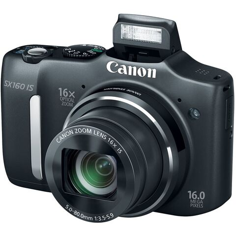 File:Canon PowerShot SX160 IS Front with Flash.jpg