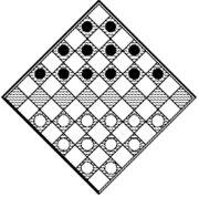Diagonal checkers(1)