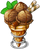 Dish-Chocolate Ice Cream