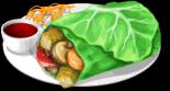 Dish-Lettuce Wraps