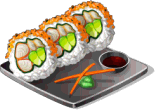 Dish-Spider Roll
