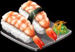 Dish-Shrimp Sushi