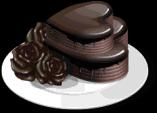 Dish-Dark Chocolate Cake