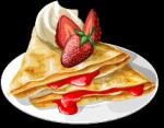 Dish-Strawberry Crepes