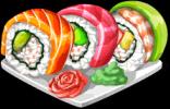 Dish-Rainbow Roll