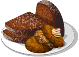 Dish-Gingerbread