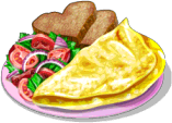 Dish-Two-Cheese Omlette