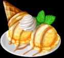 Dish-Cream Cheese Ice Cream