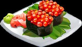 Recipe-Salmon Roe Sushi