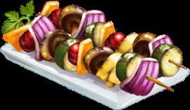 Recipe-Veggie Kebab