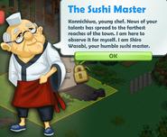 The Sushi Master