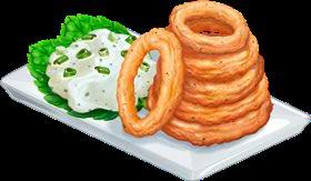 Recipe-Onion Rings