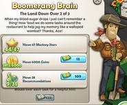 Boomerang Brain