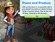Peace and Produce