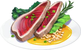 Recipe-Braised Tuna with Garlic