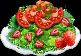 Recipe-Strawberry Salsa Salad