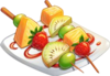 Recipe-Fruit Skewers